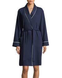 Lord & Taylor   Waffle-knit Robe   Lyst