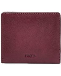Fossil - Emma Leather Mini Wallet - Lyst