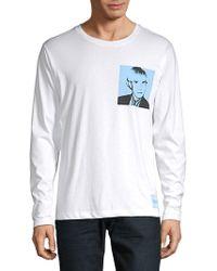 Calvin Klein - Regular-fit Warhol Portrait Graphic Top - Lyst