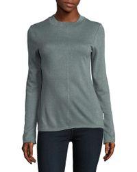 Calvin Klein Jeans - Mockneck Pullover Sweater - Lyst
