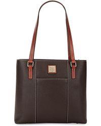Dooney & Bourke - Small Pebble Grain Leather Lexington Shopper - Lyst