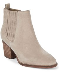 Blondo - Waterproof Suede Ankle Boots - Lyst
