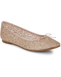 Adrianna Papell - Shirley Crystal-dot Ballet Flats - Lyst