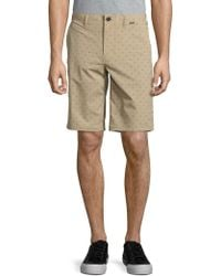 Hurley - Printed Dri-fit Shorts - Lyst