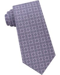 Michael Kors - Finely Outlined Geo Tie - Lyst