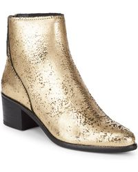 Dolce Vita - Cassius Leather Boots - Lyst