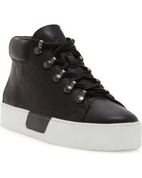 1.STATE - Wrine Low Top Leather Sneakers - Lyst