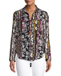Jones New York - Paisley-print Top - Lyst