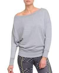 2xist - French Terry Drop Shoulder Sweatshirt - Lyst