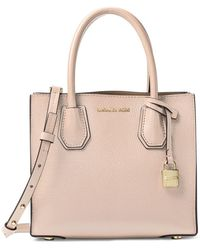 MICHAEL Michael Kors - Mercer Leather Medium Messenger - Lyst