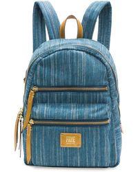 Frye - Ivy Denim Backpack - Lyst