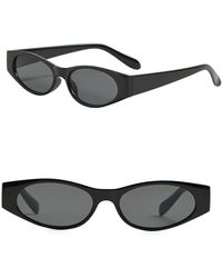 Mango - Rectangular Framed Sunglasses - Lyst