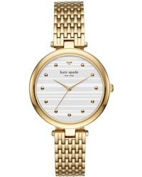 Kate Spade - Two Tone Varrick Watch - Lyst