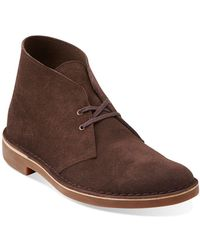 Clarks - Bushacre 2 Suede Chukka Boots - Lyst