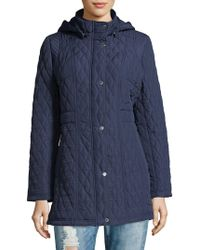 Weatherproof - Quilted Hooded Jacket - Lyst