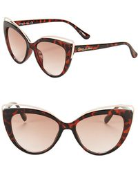 Circus by Sam Edelman - 53mm Cat Eye Sunglasses - Lyst