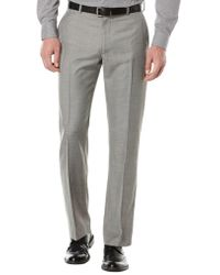 Perry Ellis - Flat Front Suit Trousers - Lyst