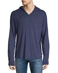Lucky Brand - Hooded Pullover - Lyst