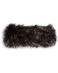 Parkhurst - Haley Faux Fur Headband - Lyst