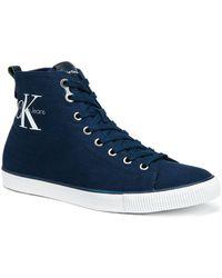 CALVIN KLEIN 205W39NYC - Arthur Canvas High-top Sneakers - Lyst