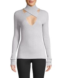 Bailey 44 - All In Wrap Cut-out Sweater - Lyst