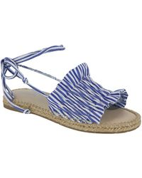 MIA - Annalise Lace Up Espadrille Sandals - Lyst