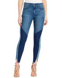 Jessica Simpson - Plus Frayed Skinny Jeans - Lyst