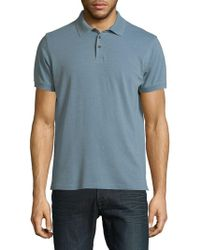 Lucky Brand - Cotton-blend Polo Tee - Lyst