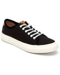 Frye - Gia Lace-up Canvas Low-top Trainers - Lyst
