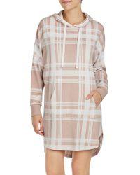 DKNY - Hooded Sleep Shirt - Lyst