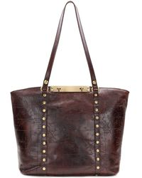 Patricia Nash - Bresimo Leather Tote - Lyst