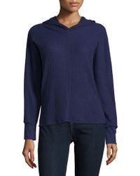 Lord & Taylor - Pullover Long Sleeve Hoodie - Lyst