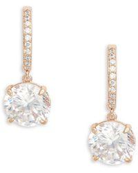 Kate Spade - Bright Ideas Crystal Drop Earring - Lyst