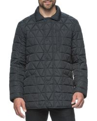 Marc New York - Long Sleeve Quilted Jacket - Lyst