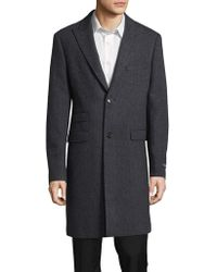 Lauren by Ralph Lauren - Linden Textured Topcoat - Lyst