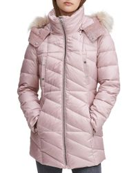 Marc New York - Chelsea Faux-fur Puffer Jacket - Lyst
