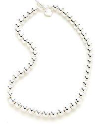 Lauren by Ralph Lauren - Mirrored Bead Necklace - Lyst