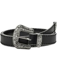 Mango - Elvis Faux Leather Belt - Lyst