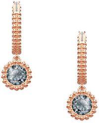 Swarovski Galet Pierced Earrings In Metallic Lyst