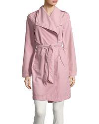 Vero Moda - Elina Self-tie Trench Coat - Lyst