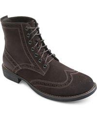 Eastland - Bennett Leather Utility Boots - Lyst