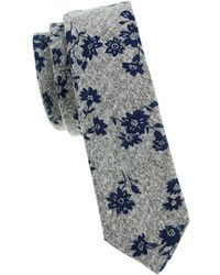 Original Penguin - Landers Floral Cotton Tie - Lyst