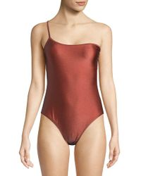 Billabong - Love Bound One-shoulder Swimsuit - Lyst