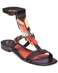 B Brian Atwood - B-megan Ankle Strap Sandals - Lyst