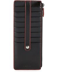 Lodis - Zip Leather Card Case - Lyst
