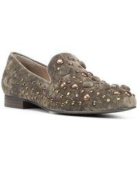 Donald J Pliner - Chic Velvet Loafers - Lyst