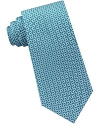 Michael Kors - Linked-circle Silk Tie - Lyst