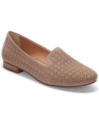 Me Too - Yardley Yani Nubuck Leather Loafers - Lyst