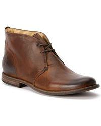 Frye - Phillip Leather Chukka Boots - Lyst