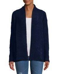 Calvin Klein Jeans - Open Front Cardigan - Lyst